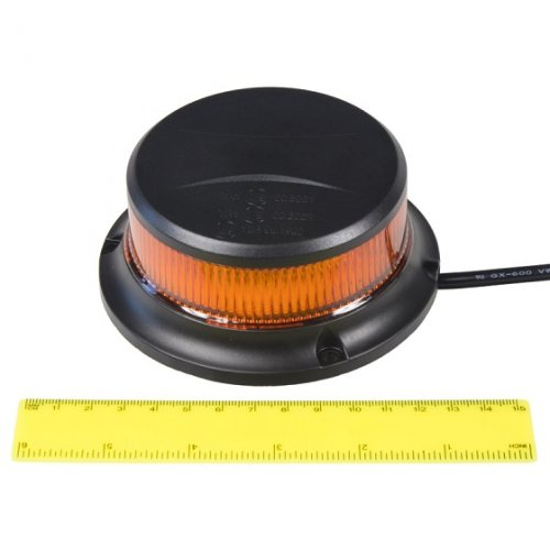 Another view of professional orange LED beacon wl310m by YL
