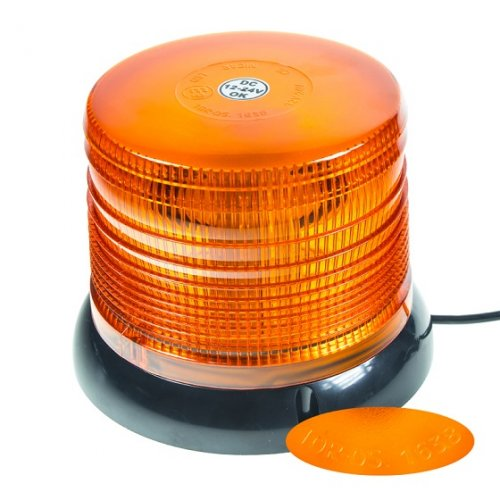Another view of orange LED beacon wl61 by Nicar