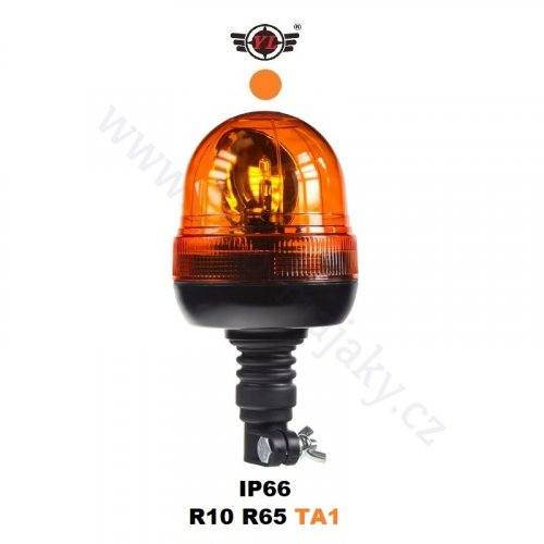 Orange warning halogen rotating beacon wl84hrH1 by YL
